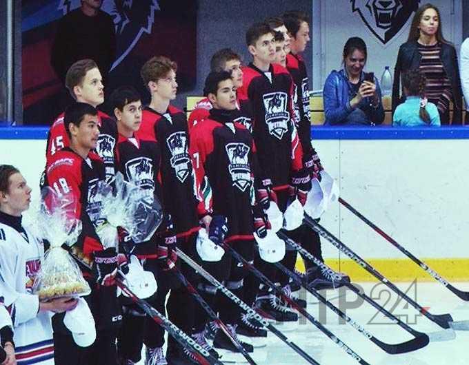 На льду «Нефтехим Арены» в Нижнекамске состоялось открытие международного турнира по хоккею
