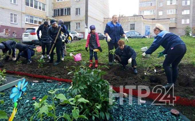 Нижнекамские школьники присоединились к экологической акции «Посади дерево»