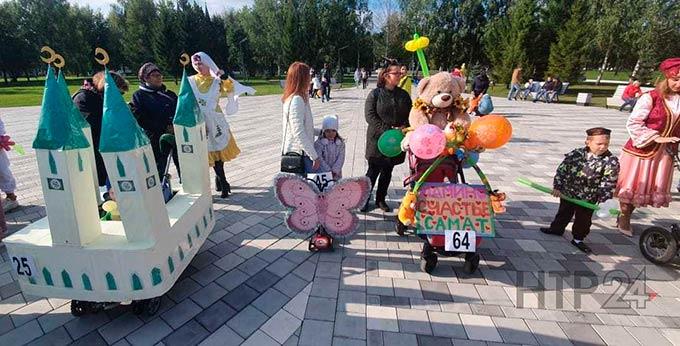 В Нижнекамске прошел парад необычных детских колясок