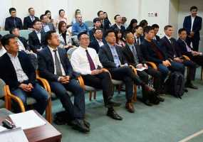 Нижнекамск с деловым визитом посетила делегация бизнесменов из КНР