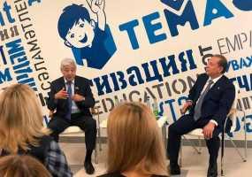 Нижнекамск с рабочим визитом посетил председатель Госсовета РТ Фарид Мухаметшин