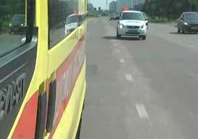 В Нижнекамском районе водители не уступили дорогу «скорой» с ребенком без сознания