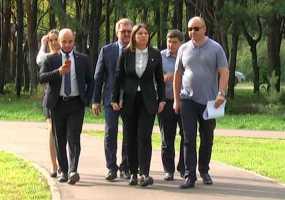 Талие Минуллиной показали будущие «Камские термы» в Нижнекамске