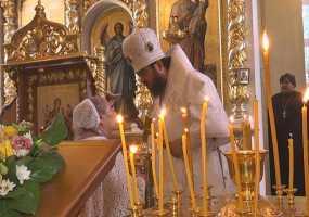 Нижнекамских верующих с Преображением поздравил епископ Чистопольский и Нижнекамский Игнатий