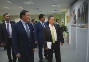 Премьер-министру Казахстана показали, как работает «ТАНЕКО»
