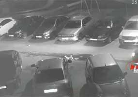 Во дворе одного из домов в Нижнекамске водитель сбил ребенка и собаку