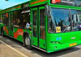В Нижнекамске из-за Дня города будет скорректировано движение автобусных маршрутов