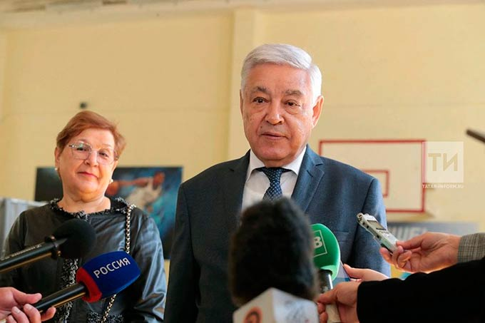 Фарид Мухаметшин проголосовал на выборах депутатов Госсовета РТ шестого созыва