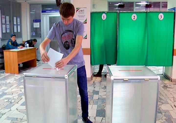 Один из избирательных участков в Нижнекамске расположился в управлении Пенсионного фонда