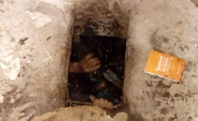 В Татарстане мужчина чуть не утонул в выгребной яме общественного туалета