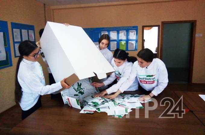 В единый день голосования нижнекамцы высказались за благоустройство дворов