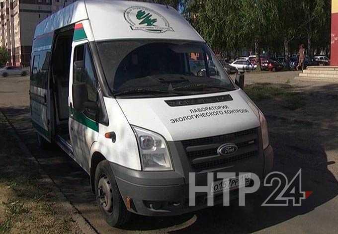 В Нижнекамске ровно через неделю в то же самое время неизвестное предприятие отравило воздух