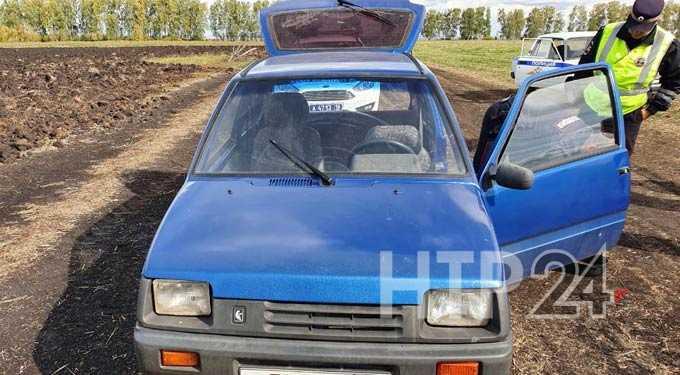 В Нижнекамском районе инспекторы ДПС утроили погоню за машиной, в которой везли марихуану
