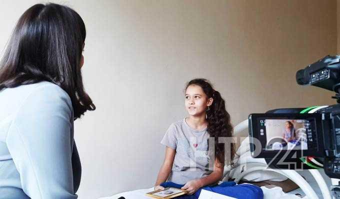 В Нижнекамске 10-летняя девочка написала книгу о медиках, которые лечили ее 2 месяца