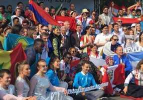 Фарид Мухаметшин открыл в Казани Международный образовательный форум спортивных волонтеров