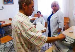 В Нижнекамске на выборах депутатов Госсовета голосуют пациенты стационарного отделения НЦРМБ