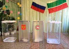 На выборах депутатов Госсовета РТ явка в Нижнекамске на 10 часов составила 8 процентов