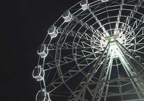 Новое колесо обозрения в Нижнекамске начнет работать в день рождения города