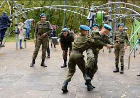 «День мужества» прошел для подростков в казанском парке