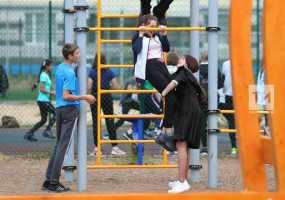 Минниханов: Благодаря нацпроектам в Татарстане появились новые школы, детсады, спортивные площадки