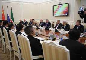 Рустам Минниханов и глава парламента Китая Ли Чжаньшу обсудили перспективы сотрудничества РТ и КНР