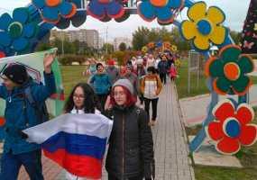 В Нижнекамске состоялся марш-бросок длиной 10 тыс шагов