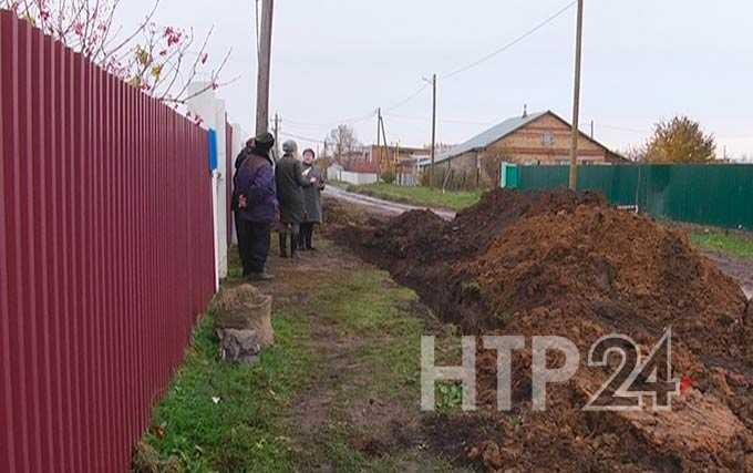 Жители Нижнекамского района возмущены затянувшимися земляными работами
