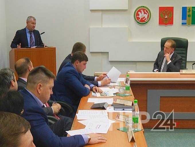В Нижнекамске обсудили дальнейшие перспективы экономического развития территории