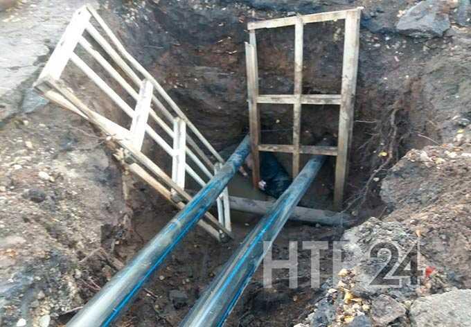 В Нижнекамске в глубокой траншее обнаружено тело мужчины