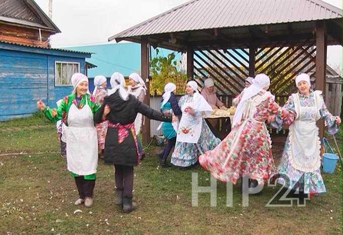В Нижнекамском районе провели старинный обряд «Каз омэсе - праздник белых перьев»