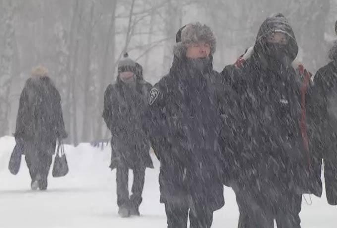 В Татарстан в последние дни октября придет метель