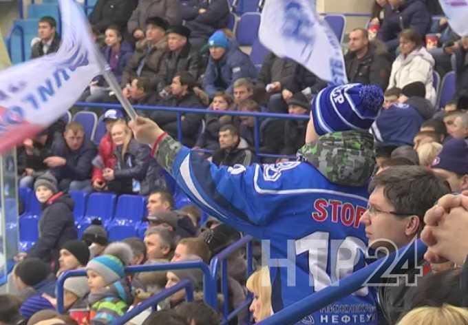 «Нефтехимик» из Нижнекамска одержал седьмую победу подряд в КХЛ