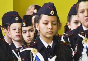 Нижнекамские школьники дали клятву юнармейца