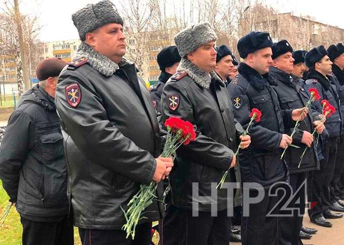 В Нижнекамске отмечают День сотрудника органов внутренних дел России