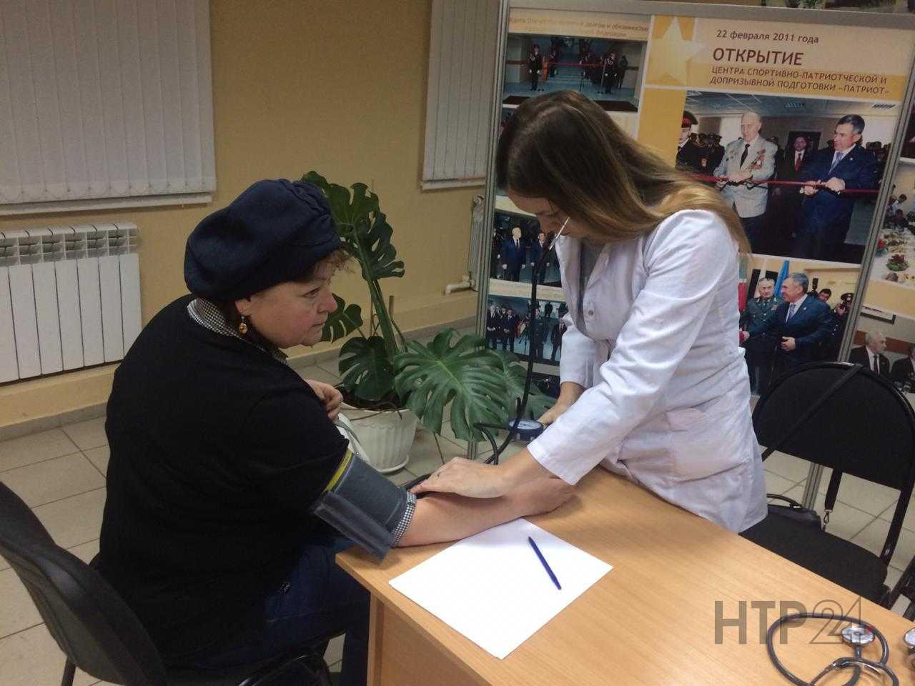 В Нижнекамске во время акции «Здоровый поселок» врачи спасли мужчину от инфаркта