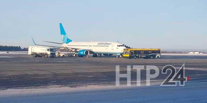 Московские аэропорты продолжают вносить коррективы в работу воздушной гавани Нижнекамска