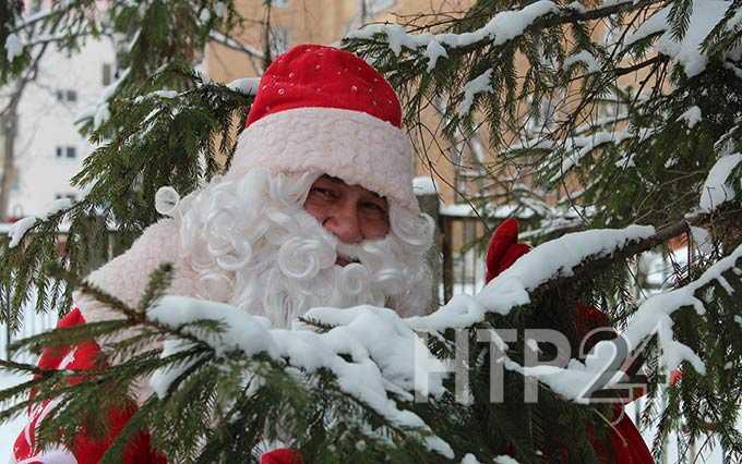 Девочка попросила Деда Мороза вернуть воду в реки России