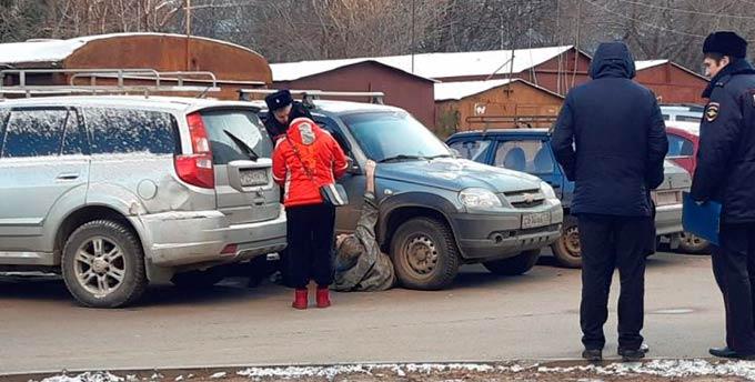 88-летняя бабушка замерзла во дворе многоэтажки в Казани