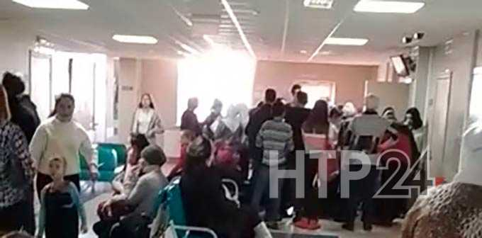 В Нижнекамском районе в больнице диспансеризация детей превратилась в столпотворение
