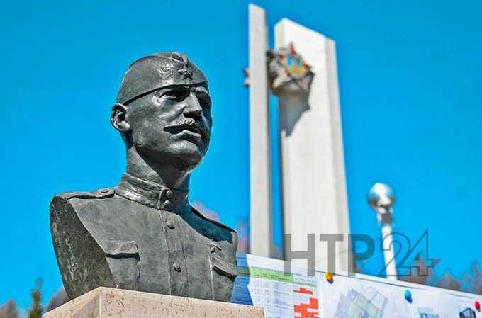 В Нижнекамске на монумент Победы возвращается Вечный огонь