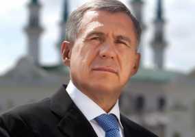 Рустам Минниханов поздравил татарстанцев с Днем Конституции РТ