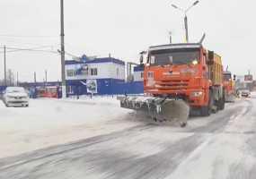 В Нижнекамске на борьбу со снежными заносами и уборку мусора на дорогах потратят десятки миллионов рублей