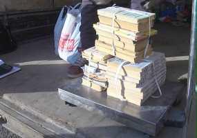 Тонны макулатуры и сотни старых батареек: в Нижнекамске прошла экоакция по сдачи вторсырья