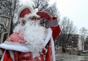 В Нижнекамске отметили день рождения Деда Мороза