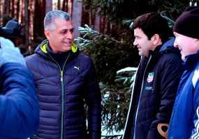 Тренер из Турции посетил базу футбольного клуба  «Нефтехимик»