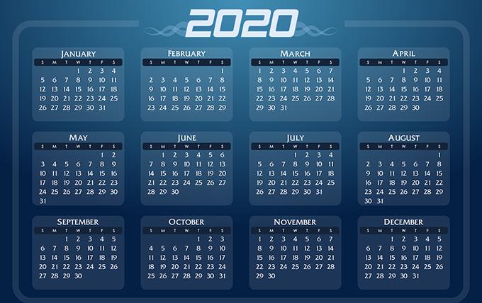 В 2020 году в календаре россиян будет восемь коротких рабочих недель