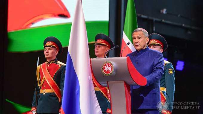 Рустам Минниханов открыл Год 100-летия ТАССР, назвал его самым важным этапом в истории татар