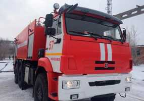 Нижнекамские огнеборцы получили на вооружение суперсовременную пожарную машину