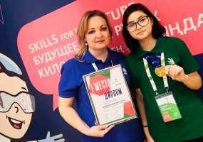 Нижнекамская школьница покорила олимп регионального этапа WorldSkills Russia