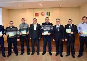Лучшие комбайнеры Нижнекамского района по итогам уборочной получили денежные премии